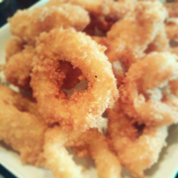 Fried Calamares @ Fely J's