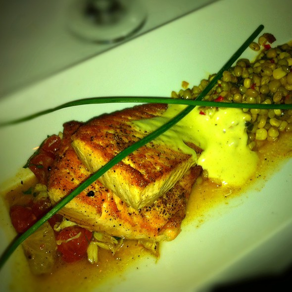 Bay Of Fundy Salmon - Dragonfly at Hotel ZaZa, Dallas, TX