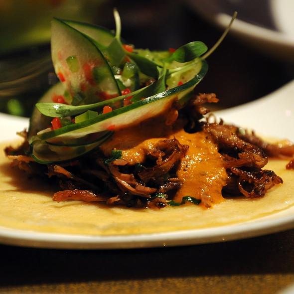 Lamb Taco @ Distrito Restaurant