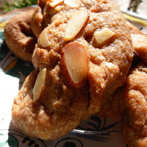 Vegan Spelt Cookies @ Los Angeles, CA
