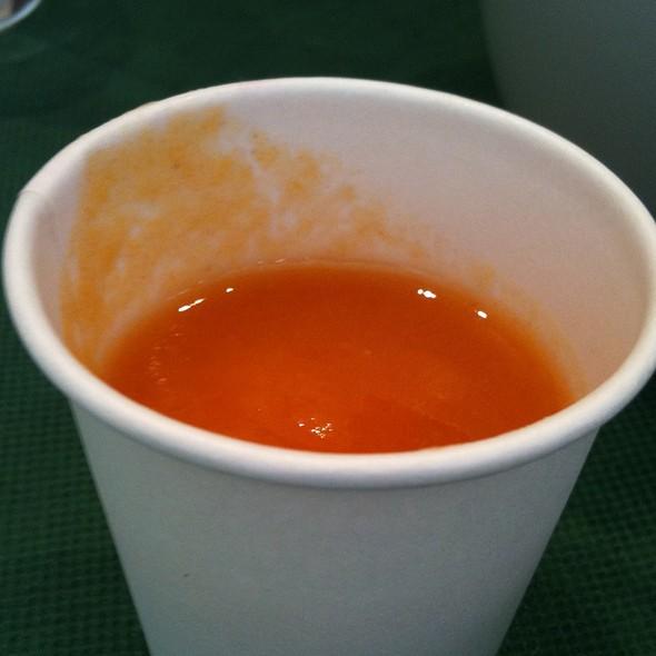 トマトジュース @ わがままカフェ