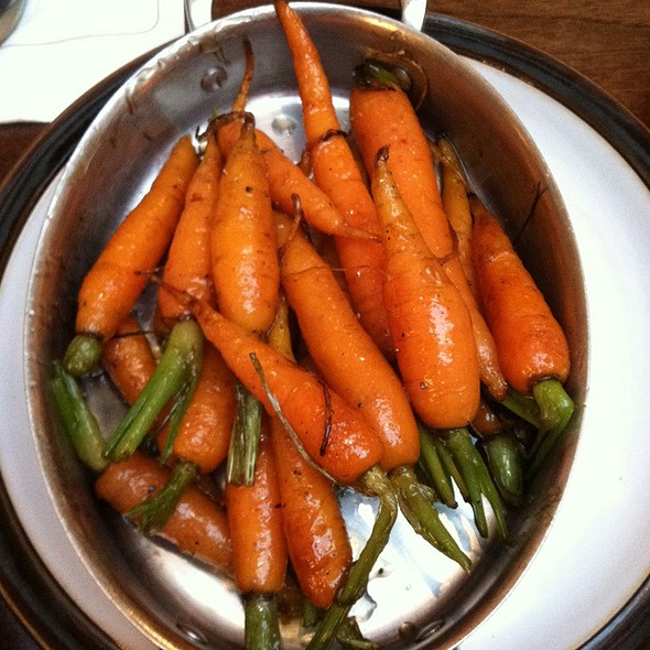 Honey Buttered & Parsley Glazed Field Carrots - Cure Bar & Bistro, Washington, DC