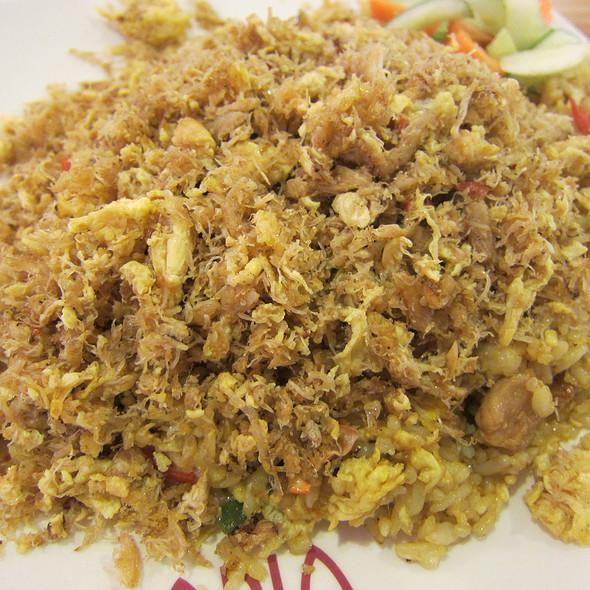 nasi goreng kepiting