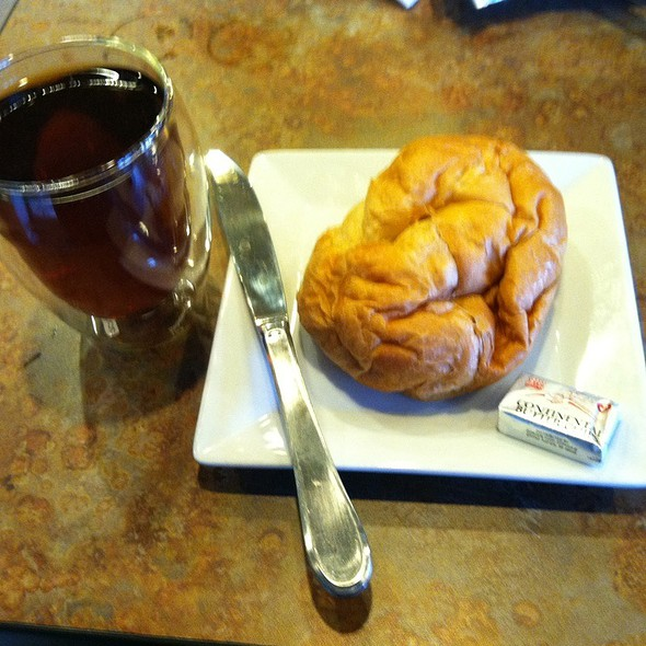 Croissant And Tea