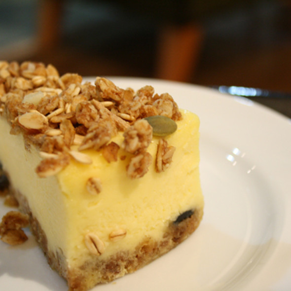 Granola Yogurt Cheesecake @ Starbucks