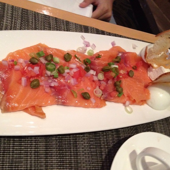 Smoked Salmon Platter - Trademark Drink + Eat, Alexandria, VA