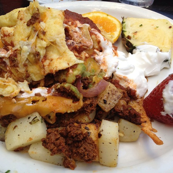Mexican Casarole With Chorizo And Scrambled Eggs
