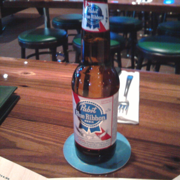 Pabst Blue Ribbon @ Miller's Ale House