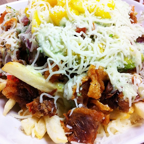 Sisig Fries @ Zarlitos Family Restaurant