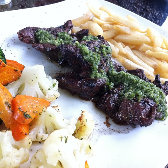 Grilled Sirloin With Chimichurri