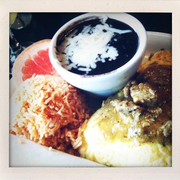 Chile Verdi Omelette @ Oakland Grill