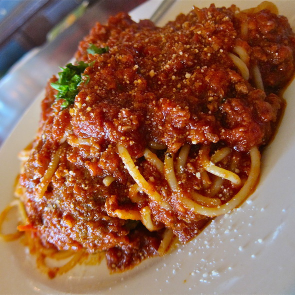 Spaghetti and Meatballs @ Capp's Corner