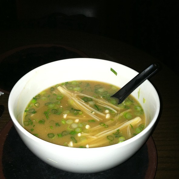 Miso Soup @ Ruby Foo's