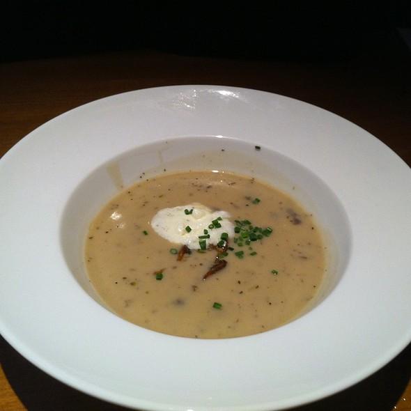 Mushroom soup @ Joey Eatons Centre