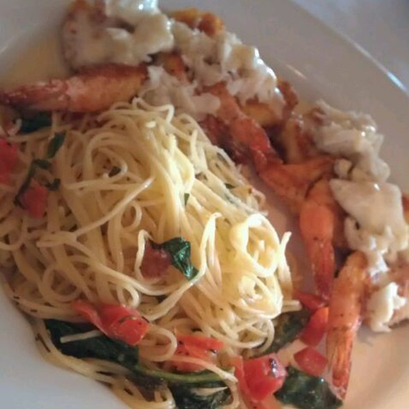Shrimp Fresca Pasta - Landry's Seafood House - The Woodlands, The Woodlands, TX