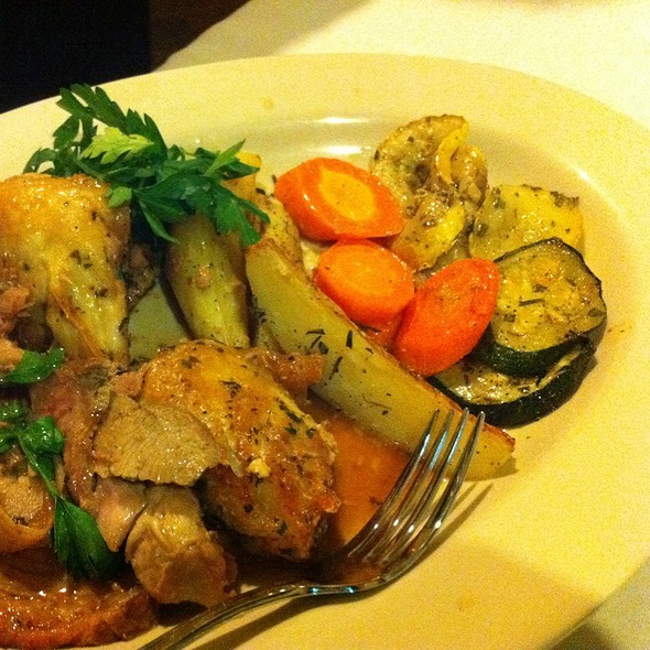 Roast Chicken With Potatoes And Vegetables - Franco Italian Bistro, Wellington, FL