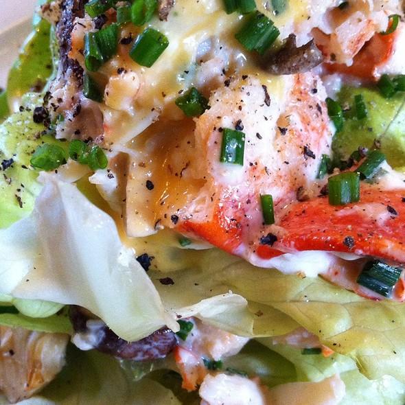 Salad With Main Lobster & Grapefruit - BG - Bergdorf Goodman, New York, NY