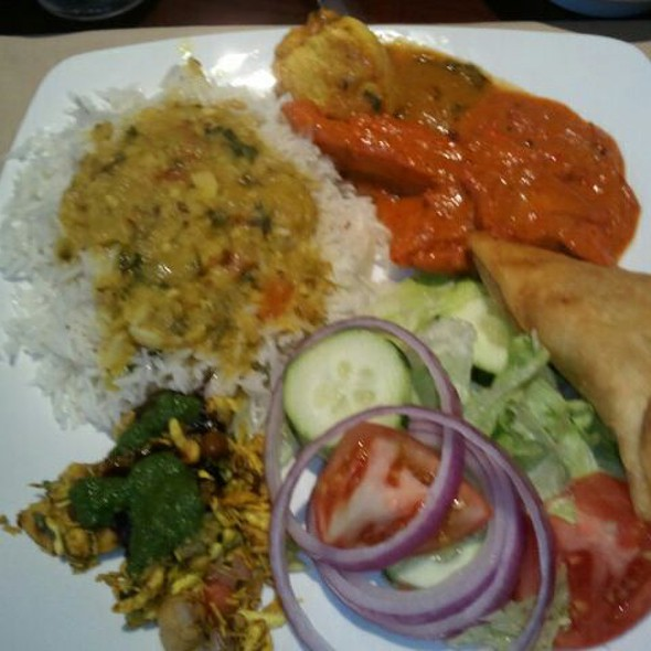 Lunch Mix Plate - Bombay Bistro, Franklin, TN