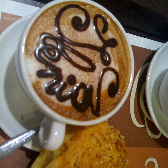 Cappuccino E Brioches @ McDonald's Latina Romagnoli