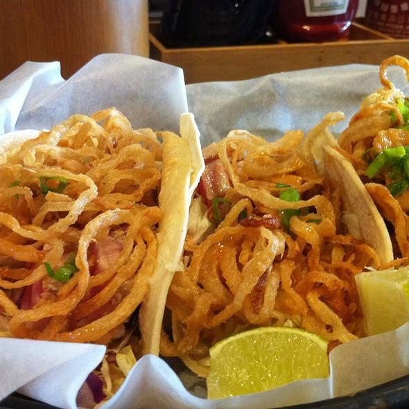 Ahi Tuna Tacos @ Pacific Catch