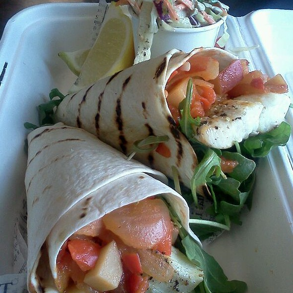 halibut tacos @ Joe's Seafood Bar