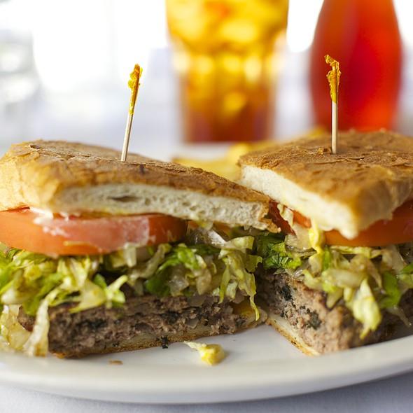Mediterranean Burger @ Mediterranean Market & Grill