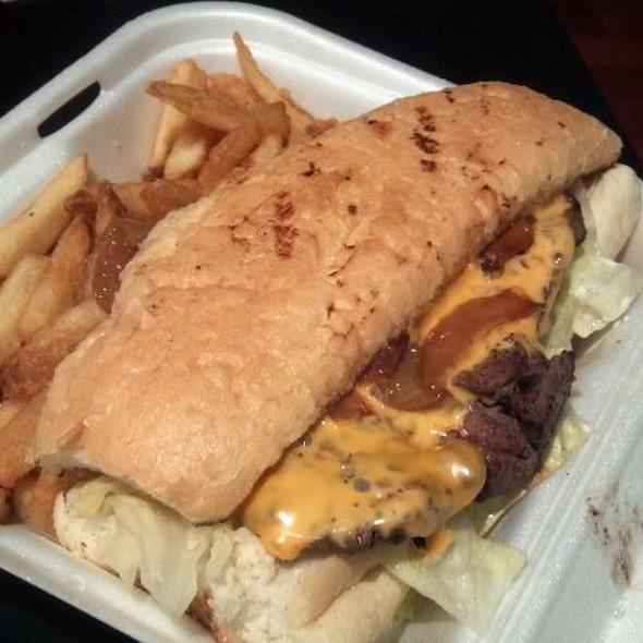 Ribeye Steak Sandwich @ Tastee Freez