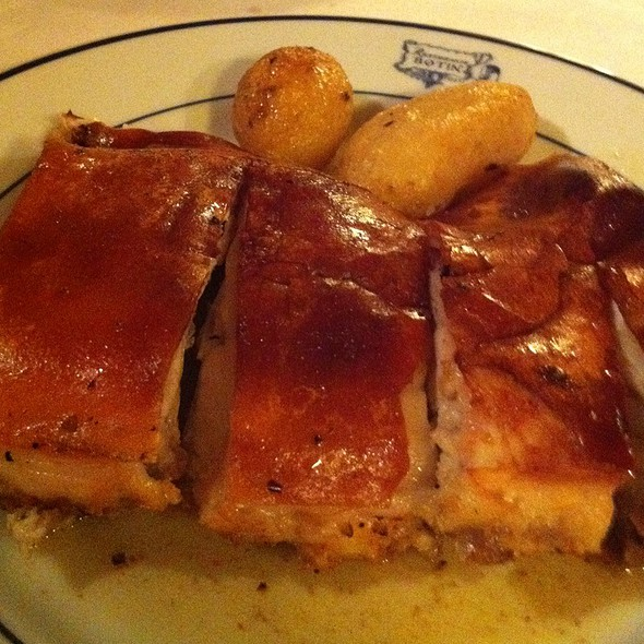 Roasted Suckling Pig! @ Restaurante Botín