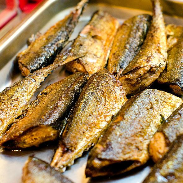 fried fish @ Hokkaido Seafood Buffet