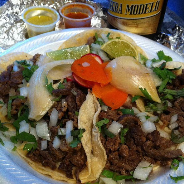 Carne Asada Tacos @ El Taco Express