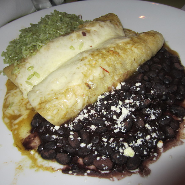 Shredded Beef Enchiladas @ Yolos Mexican Grill