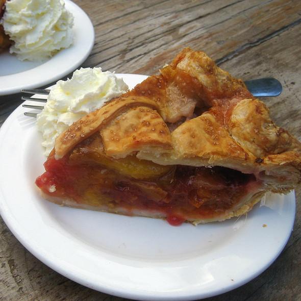 Plum Raspberry Lattice Pie @ Three Babes Bakeshop