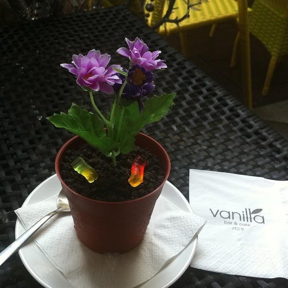 Vanilla Dirt Cake @ vanilla bar & café