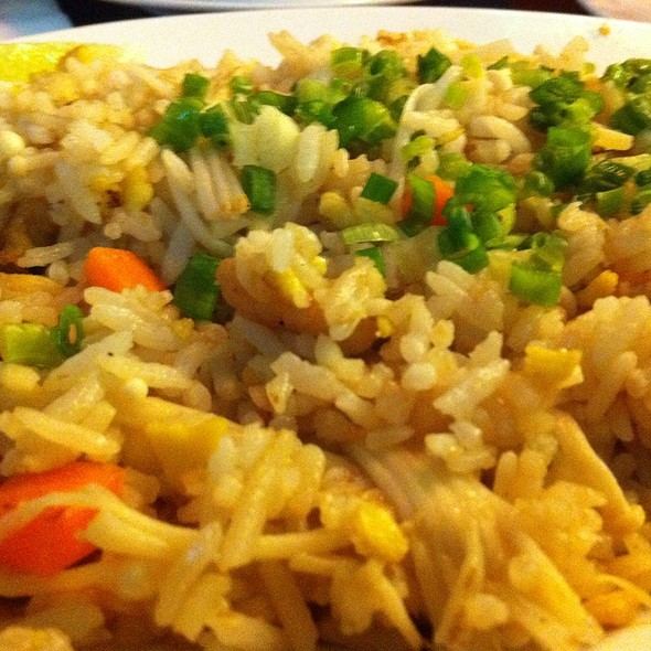 Thai Mushroom Fried Rice @ Johnny's Restaurants