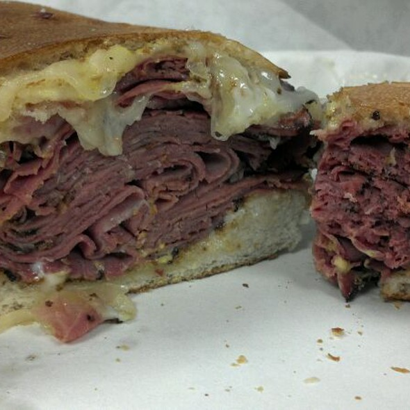 Pastrami And Swiss Sub