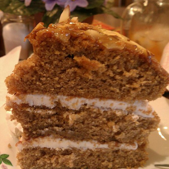 Spiced Pumpkin Cake @ Daily Grind Coffeehouse