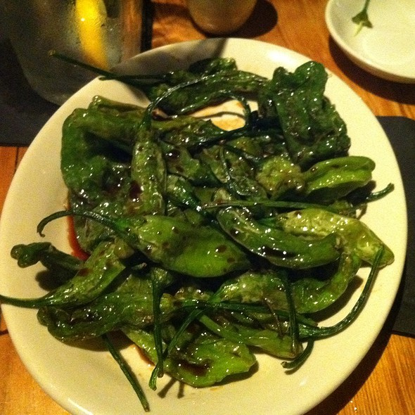 Shishito Peppers - Wokcano - Downtown LA, Los Angeles, CA