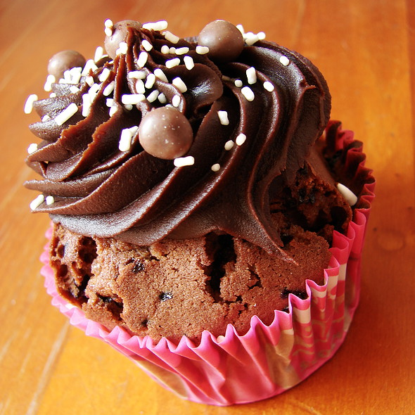 Coffee & Chocolate Cupcake