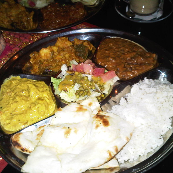 Vegetarian Thali @ Spices