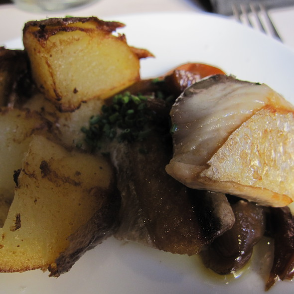 Pickled mackerel with fries @ La Panxa del Bisbe