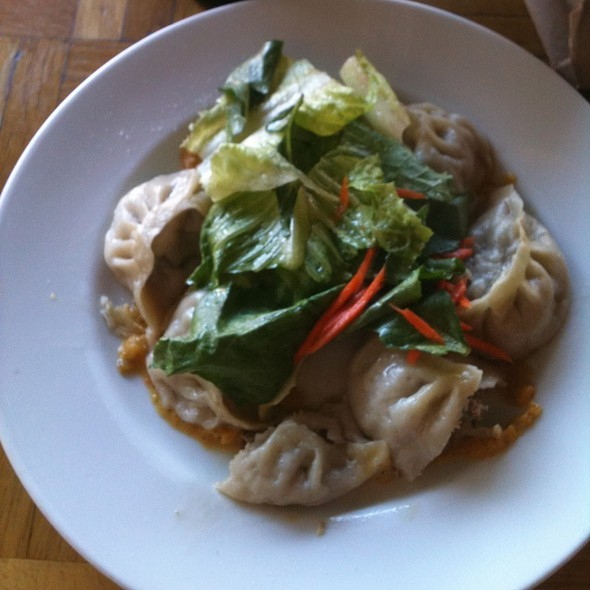 Beef Momos @ Cafe Tibet