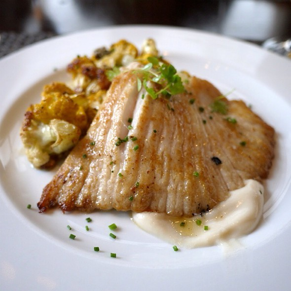 Pan Roasted Skate @ Colicchio & Sons