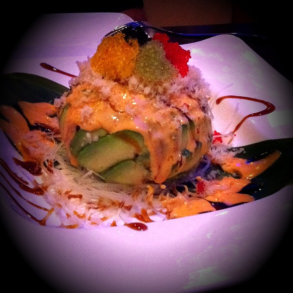 Dino Egg @  SAGA HIBACHI STEAKHOUSE & SUSHI BAR