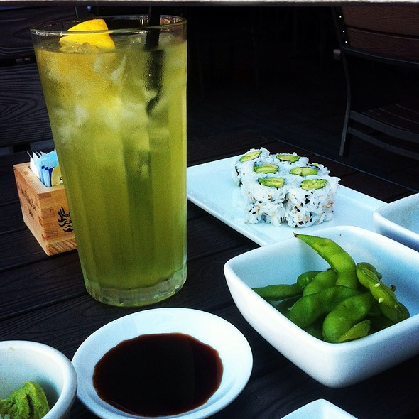Avacado Rolls - Kabuki Japanese Restaurant - Old Pasadena, Pasadena, CA