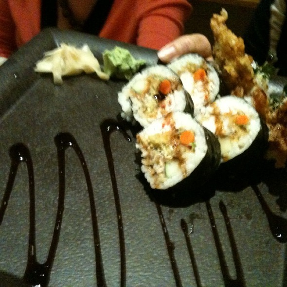 Spider Roll @ Shokudo Japanese Restaurant & Bar