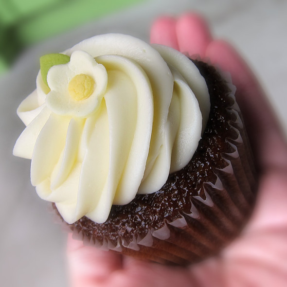 Gingerbread Cupcake @ Miette Cakes