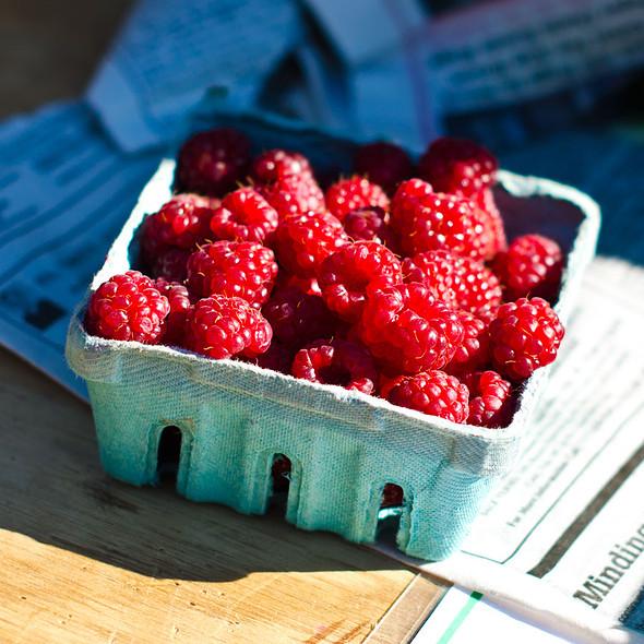 Raspberries @ Annandale Farmer's Market