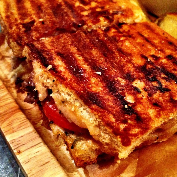 Steak Panini Sandwich - FIG & OLIVE Uptown, New York, NY