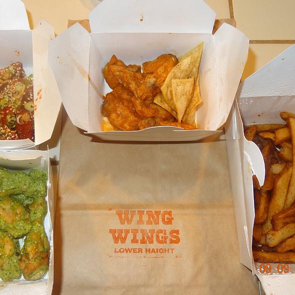 Chicken Wings @ Wing Wings