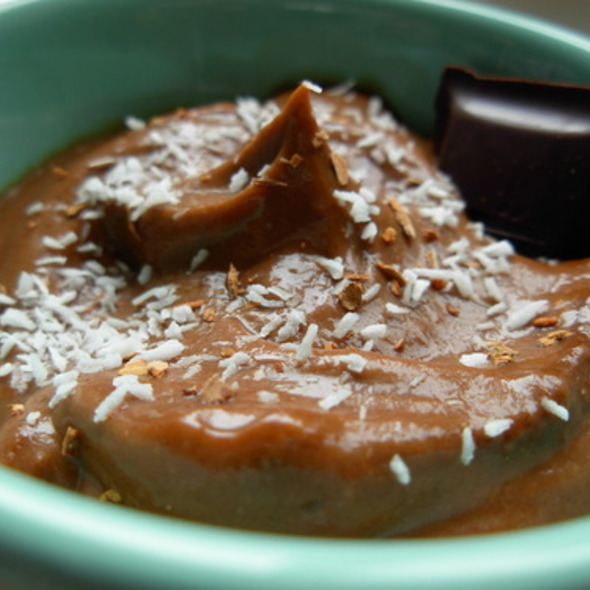 Julianna's Raw Chocolate Pudding @ Los Angeles